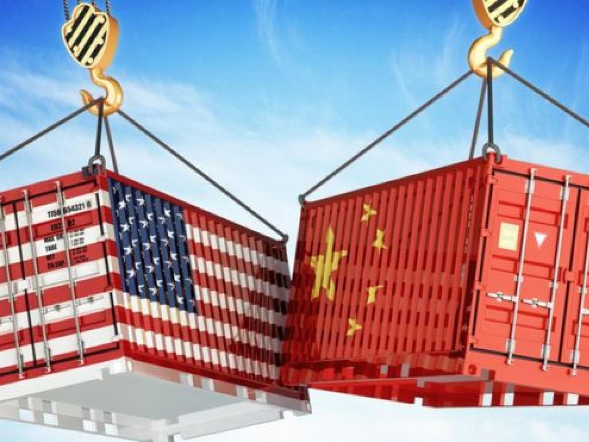 The latest round of Trump tariffs effectively tax half of all Chinese goods exported to the US. GETTY IMAGES