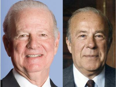 James A. Baker III and George P. Shultz