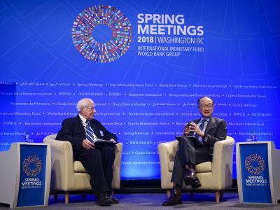 Spring Meetings 2018, Jim Kim and Jim Kolbe
