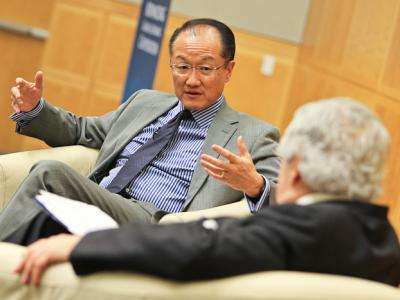 Jim Yong Kim at the Committee's 2013 Annual Meeting
