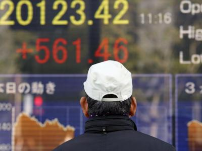 Lukewarm figures from China and Europe have spooked investors. PHOTO: KOJI SASAHARA/ASSOCIATED PRESS